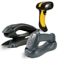 Cordless Barcode Scanner Finder