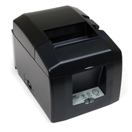 Star Tsp654iibi 24 Gry Thermal Receipt Printer Bluetooth Interface Ios And Android Compatible Auto Cutter Supply Color Gray Part Number