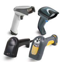Corded Barcode Scanner Finder