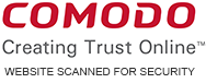 Comodo Secure - Website Scanned For Security
