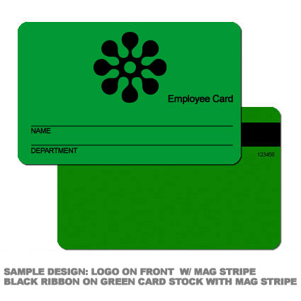 Employee Logo Card