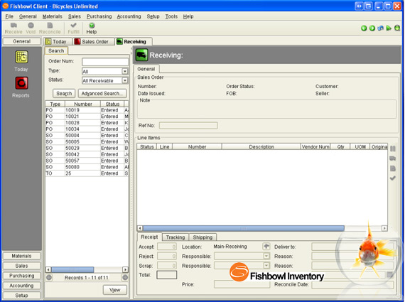 Fishbowl Inventory Software Image 1