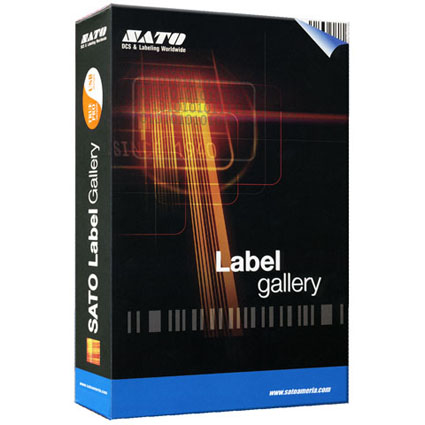 SATO Label Gallery Barcode Software Image 1