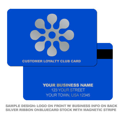 Customer Loyalty Logo Card