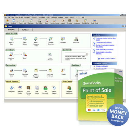 Intuit QuickBooks Point of Sale Basic Image Thumbnail 2