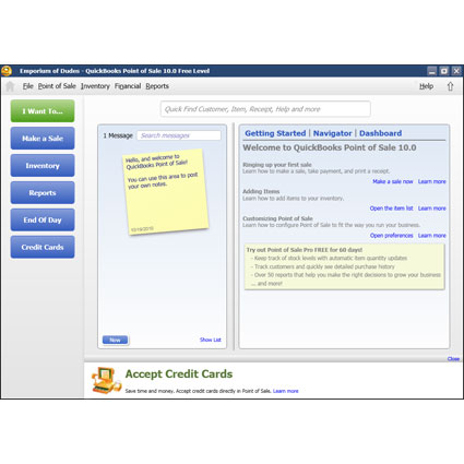Intuit QuickBooks Point of Sale Pro Image Thumbnail 3