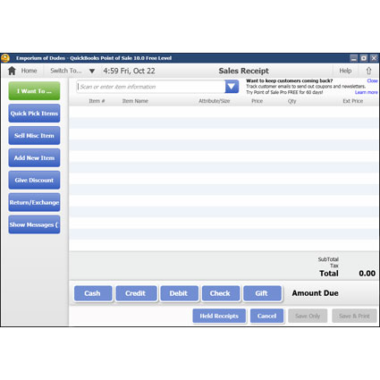 Intuit QuickBooks Point of Sale Pro Image Thumbnail 4