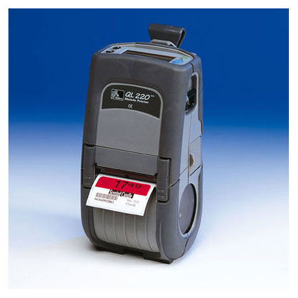 Zebra QL220 Mobile Printer Image Thumbnail 1