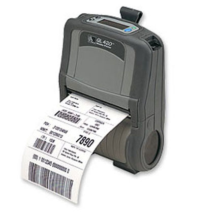 Zebra QL420 Mobile Printer Image 1