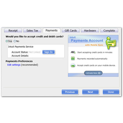 Intuit QuickBooks Point of Sale 2013 Basic Image Thumbnail 2