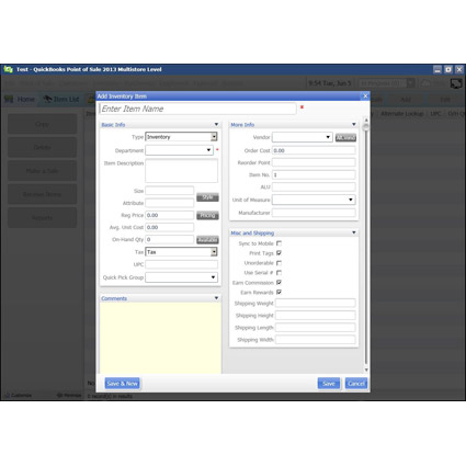 Intuit QuickBooks Point of Sale 2013 Pro Image Thumbnail 3