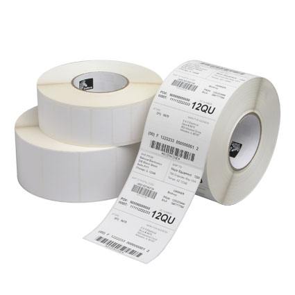 Zebra Direct Thermal Tabletop Industrial Label Image 1